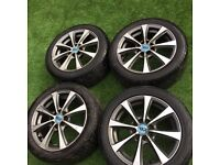 "Vauxhall Corsa 4 Stud 4x100 15"" Diamond Cut Alloy Wheels & Tyres Delivery available"