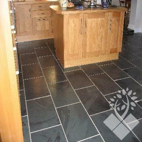 Slate Floor Tiles. Kitchen Floor Tiles   eBay