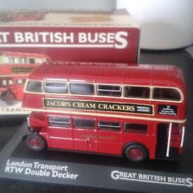 Great British Buses Die cast Vehicle collection