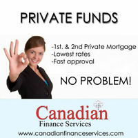 Get private funds directly from Lender If you have some equity