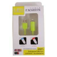 LED FASHION CABLE (GOLD PLATED USB)