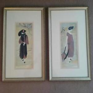 TWO QUALITY GOLD-COLOURED PICTURE FRAMES Kitchener / Waterloo Kitchener Area image 1