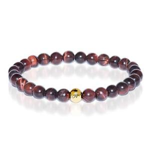 50% OFF All Jewellery - Noble   Gold Essence Red Tiger's Eye Bracelet