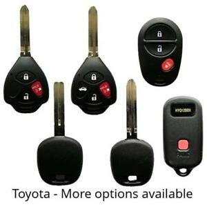 Toyota Car Truck Keys and Remotes - We supply, cut and program!