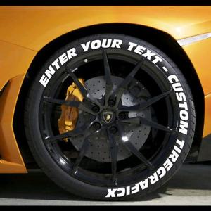 CUSTOMIZE YOUR TIRES