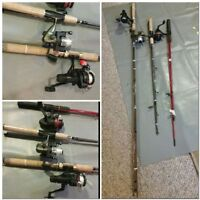 Moving sale Fishing Rods ( best offer)