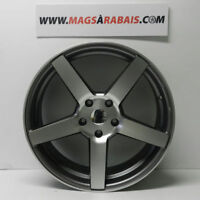"""MAG STYLE VOSSEN 20"""" 5X120 STAGGERED(PLUS LARGE EN ARRIERE)"""