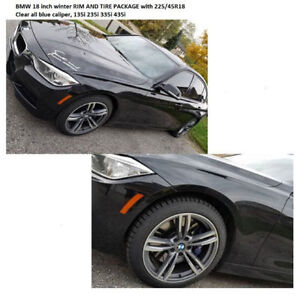 BMW WINTER RIM/TIRES PACKAGE 1 2 3 4 5 SERIES WINTER TIRE