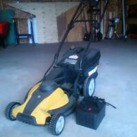 NEW Battery for Sale, for WORX 3-in-1 Lawn Mower...Free Mower!!!
