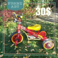 2 TRYCYCLE/VOITURE POUR 30$