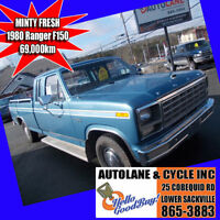 1980 Ford F150 Ranger Original Nova Scotia Truck 69274 KMS Bedford Halifax Preview