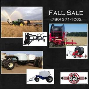 Ag Equip Fall SALE - Water Cannons, Irrigation Reel, Fertilizer