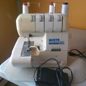 Whites Superstock Serger (heavy duty sewing machine)