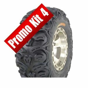 Kit 4 tires - Kenda Bear Claw HTR 8-ply