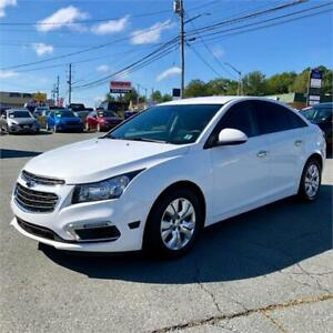 2015 Chevrolet Cruze 1LT w/bluetooth/back up camera/touch screen