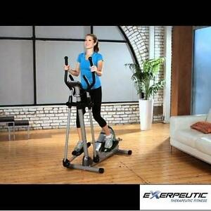 NEW* EXERPEUTIC  ELLIPTICAL BIKE EXERCISE EQUIPMENT fitness workout Elliptical Trainers  Steppers 108394760