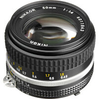 Nikon NIKKOR 50mm f/1.4 Camera Lens (Originally Paid $599)