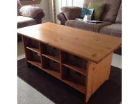 Ikea Leksvik Table, TV Unit & Side Unit