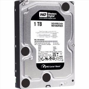 ★★★ WD Black 2TB Performance Desktop Hard Disk ★★★