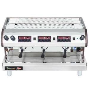 Cecilware Venezia II ESP3-220V 3 Group Espresso Machine 240V *RESTAURANT EQUIPMENT PARTS SMALLWARES HOODS & MORE*