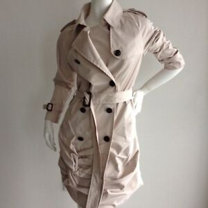 Burberry Inspired Trench Coat Dress