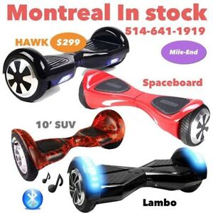 In STOCK IO Hawk Eboard Hoverboard Scooter Smart Balance Wheels