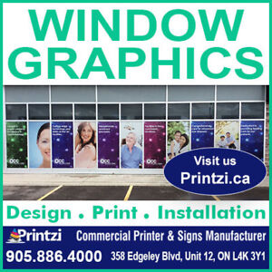 Window Graphics and Window Signs