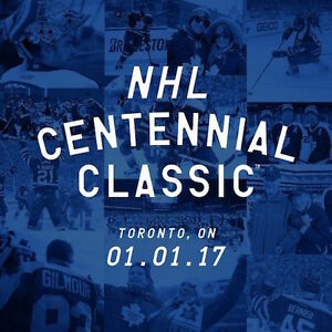 2017 NHL Centennial Classic Toronto vs Detroit!! SOLD OUT!! London Ontario image 1
