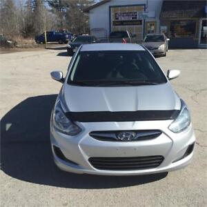 2013 HYN ACCENT CERT TAXS WARRANTY ALL INCL; IN PRICE 5085.00