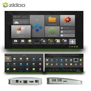 Android TV - ZIDOO X5 Android 5.1 Lollipop S905 Quad Core