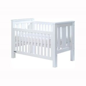 Tasman Eco Cot with mattress  -white Pearce Woden Valley Preview