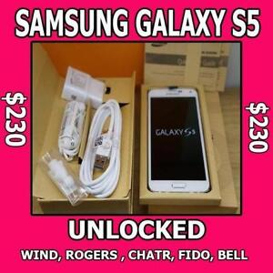 Like New Samsung Galaxy S5 $230 S6 $399, Note 4 $370,Note 5 $525