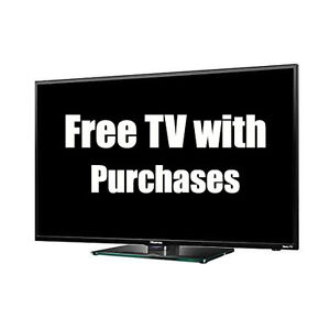 FREE TV with PURCHASE select vehicles