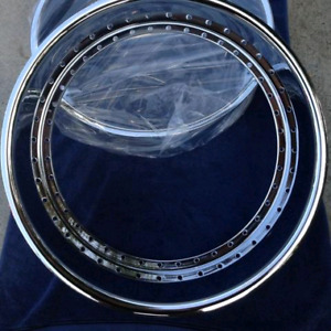"""22""""x6"""" 40 holes Outer lip barrel for 3 pieces wheels"""