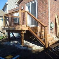 Deck Specialist ,book your deckjob and Save