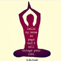 In-home and Workplace Yoga Lessons (Downtown)