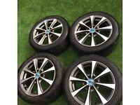 "Vauxhall Corsa 4 Stud 4x100 15"" Diamond Cut Alloy Wheels & Tyres Delivery available"