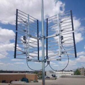SMART ANTENNA 8 BAY OUTDOOR MULTI DIRECTION HD VHF/UHF HD TV ANTENNA