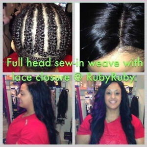 Tissage tete compl?te, crochet braids, hair extensions_Rallonges ...