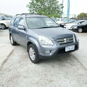 2006 Honda CR-V RD MY2006 Sport 4WD Grey 5 Speed Manual Wagon St James Victoria Park Area Preview