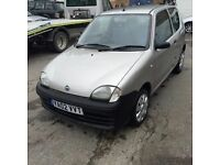 2002 Fiat SEICENTO 1.1 Nice 60000 mile genuine car