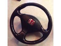 Honda Civic EP3 Type R and airbag