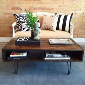 Hairpin Coffee / Desk / Console / Dining Table / Bench / Stool Kitchener / Waterloo Kitchener Area image 1
