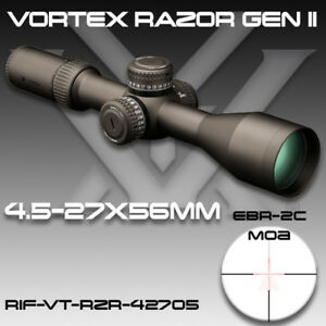 Vortex® Razor HD Gen II Riflescope 4.5-27x56mm