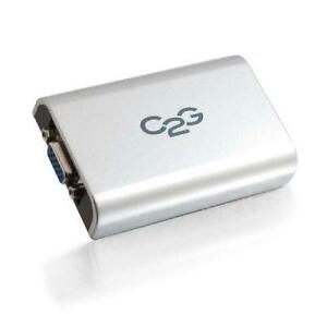 C2G USB to VGA Adapter Up To 1080p - 30545
