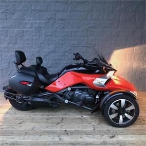 2017 Can Am Spyder F3 S Semi Auto