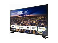 Samsung 55 inches 4K ultra HD led smart tv in as new condition