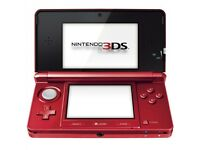 3DS Metallic red