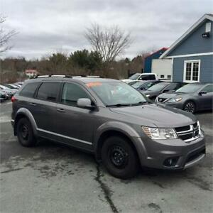 2013 Dodge Journey Crew w rear ac/third row seating/heated seats