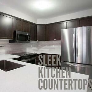 Granite & Quartz countertops... Fast.. Professional!